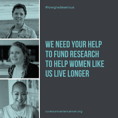 We need your help to fund research to help women like us live longer