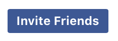 Image of Invite Friends button from facebook