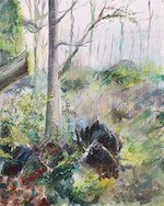 Savernake Forest painting